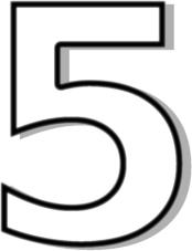 number_5_white